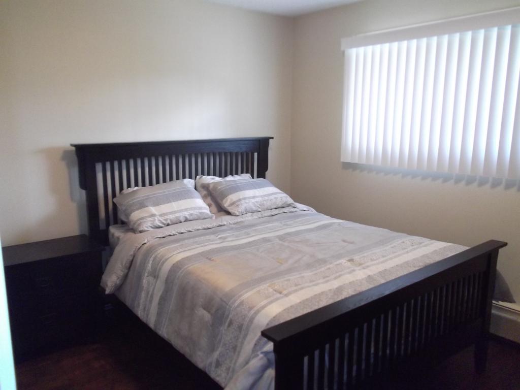 Comfortable and stylish bedroom