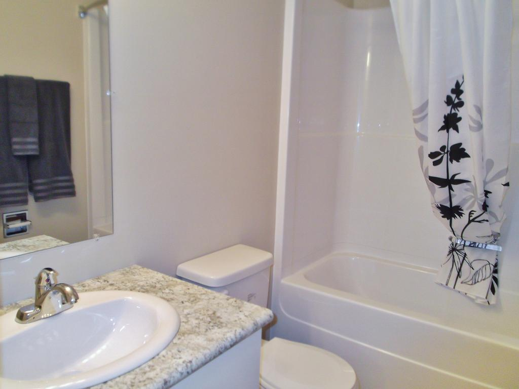 Classic, updated bathroom