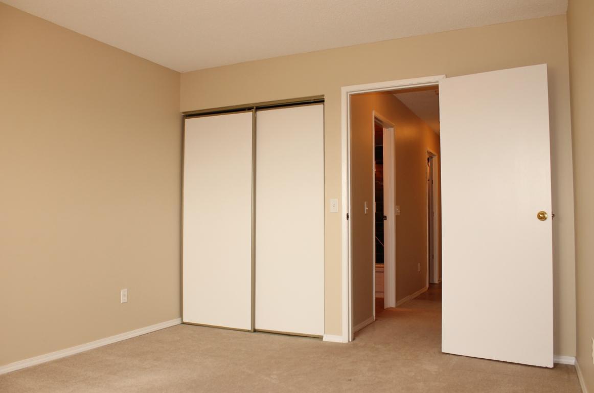 Ample closet space