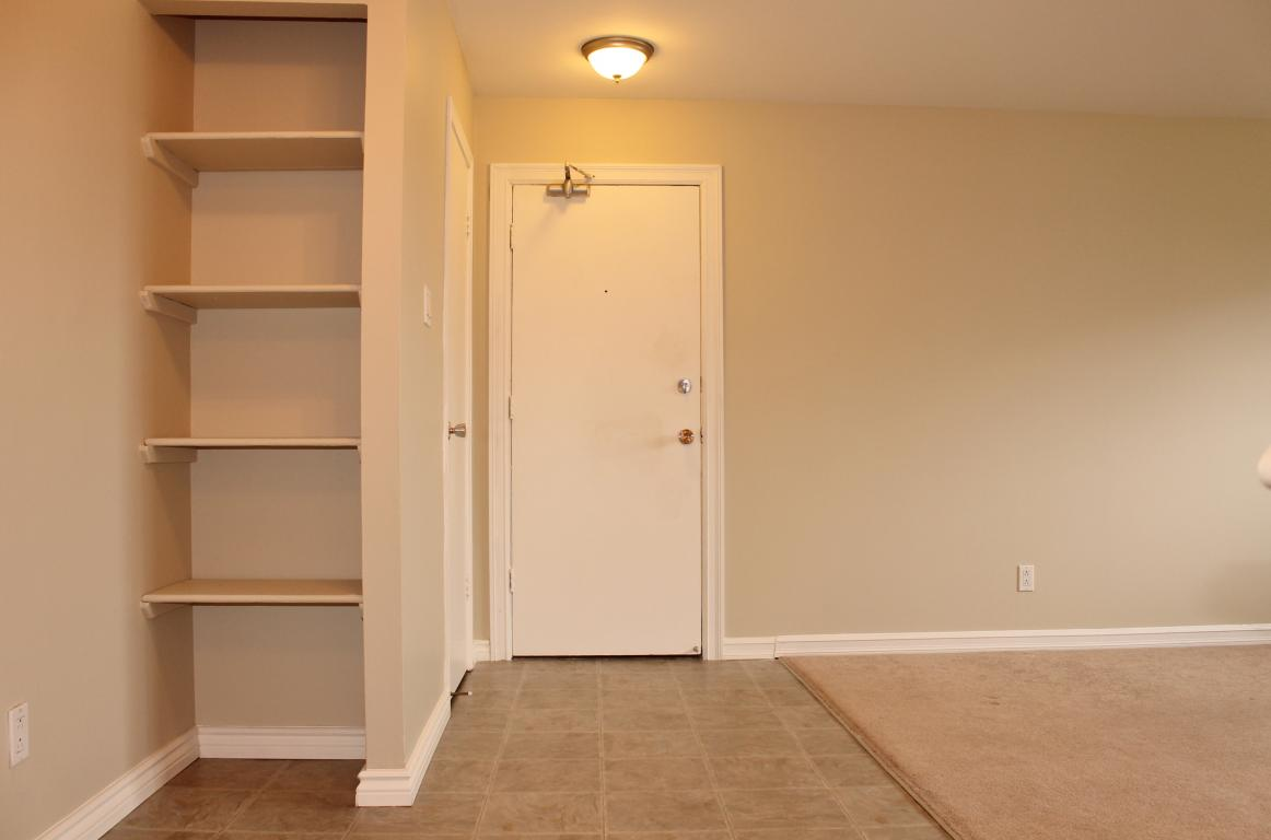 Extra storage and cabinetry