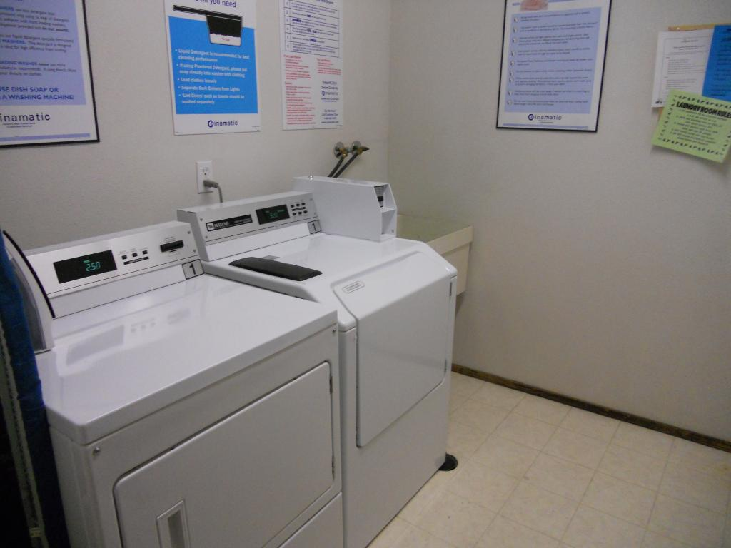 Building laundry room