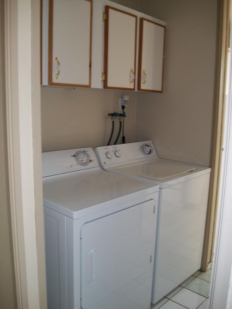 Full laundry room