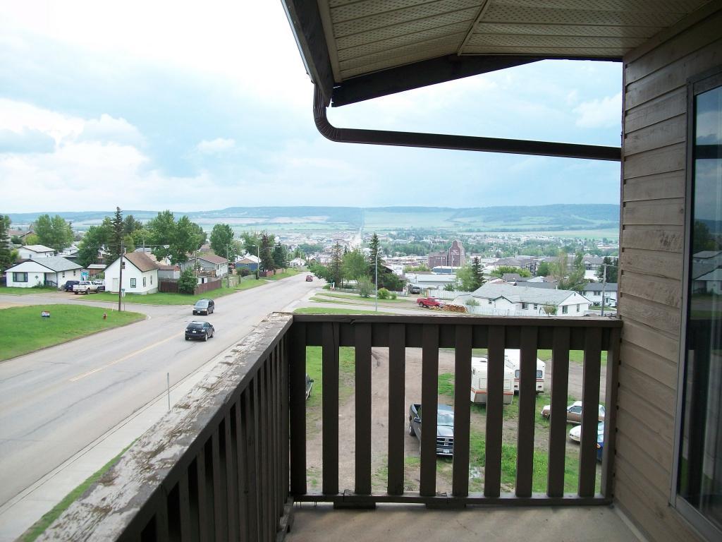 Beautiful views of Dawson Creek