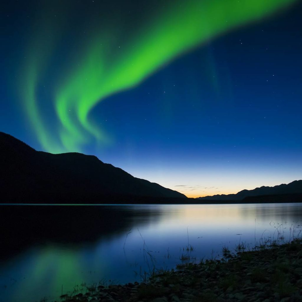 Experience Sitemap: Experience The Northern Lights
