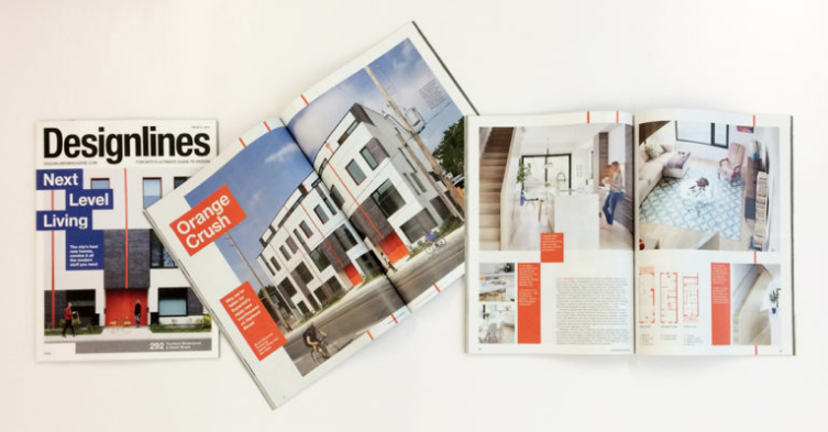 Harbord Towns on the cover of Designlines