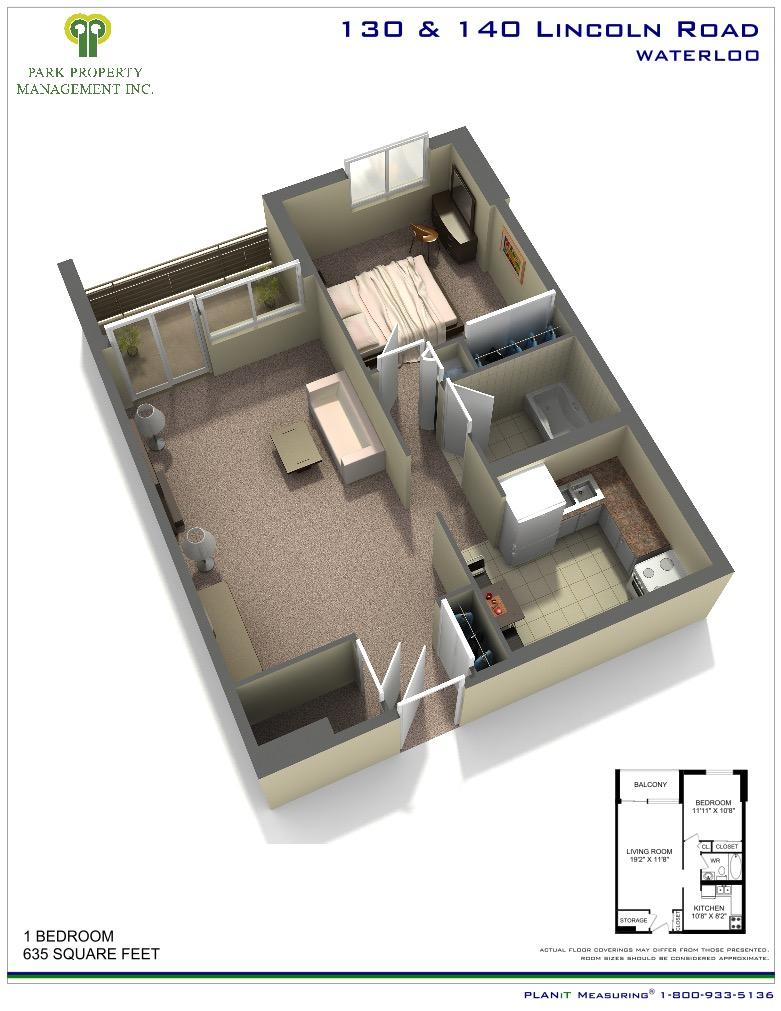 130 140 Lincoln Road Waterloo Park Property Managment Inc  | Park