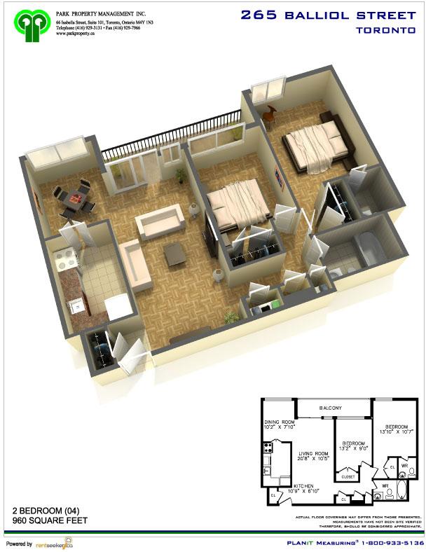 221 265 Balliol Street Park Property Management