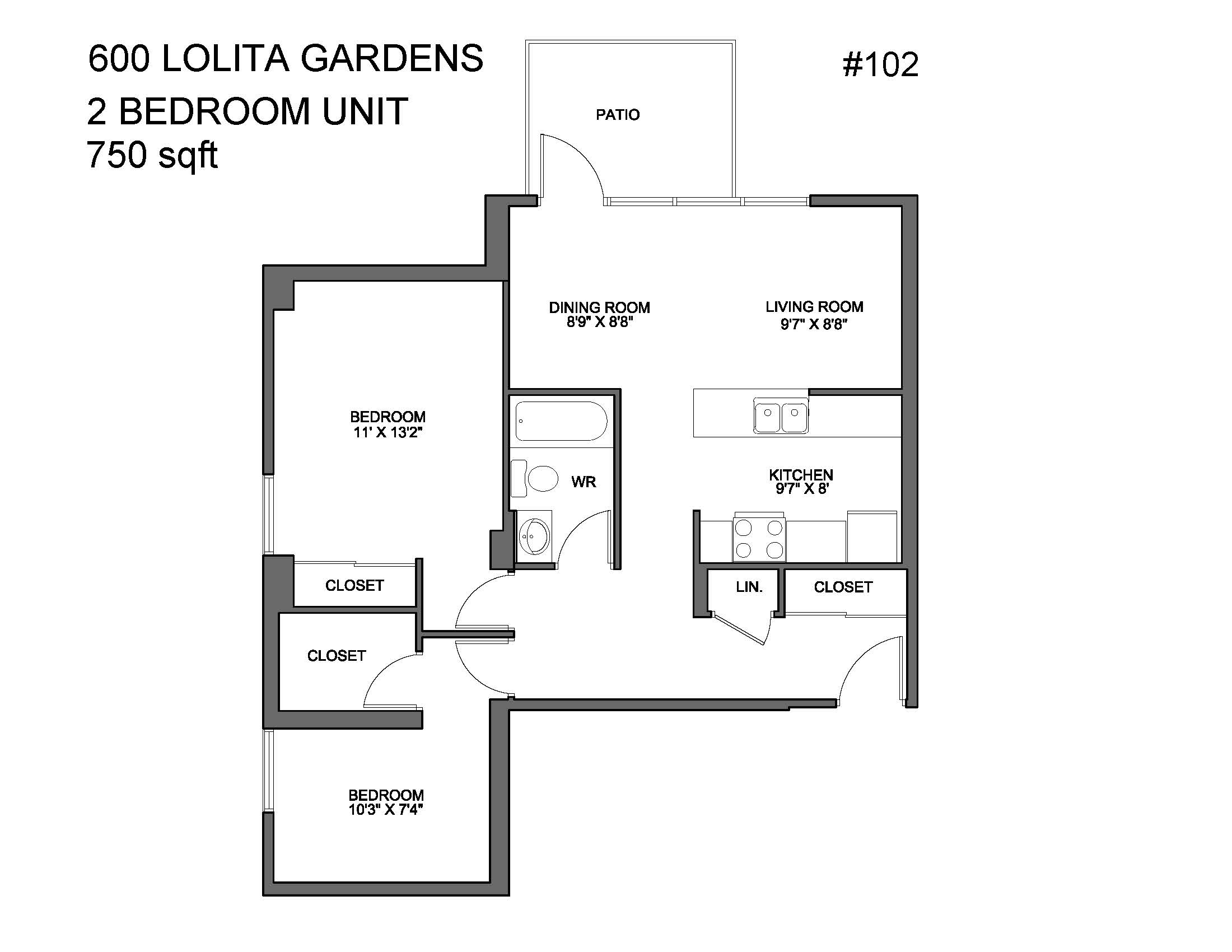 600 & 620 Lolita Gardens | Park Property Management