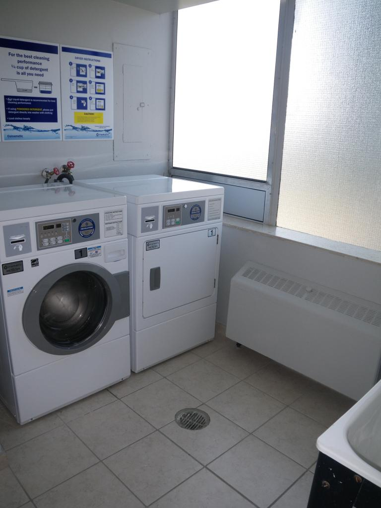 Laundry Facilities on every floor
