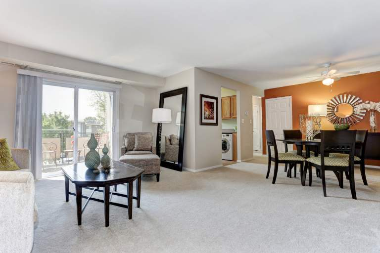 Large 1 and 2 bedroom apartments at Hamilton Springs Apartments in Baltimore, MD