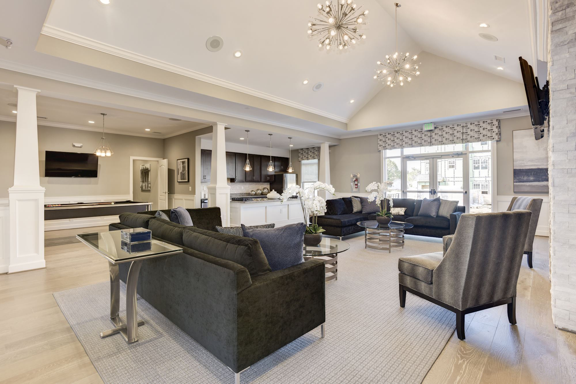 Community Clubhouse at Avanti Luxury Apartments