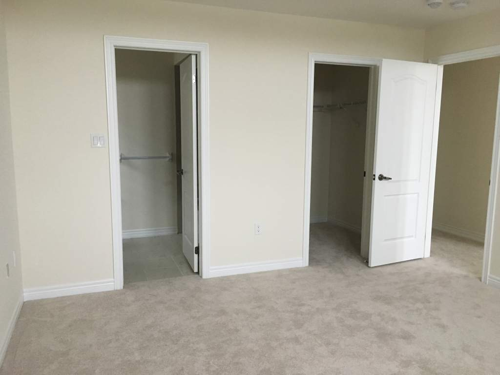 Master Bedroom with walk-in closet and ensuit