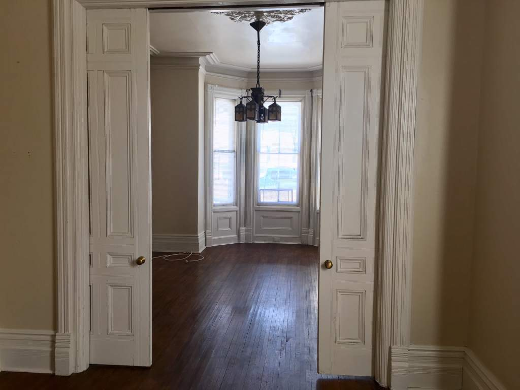Doors between Living and Dining rooms