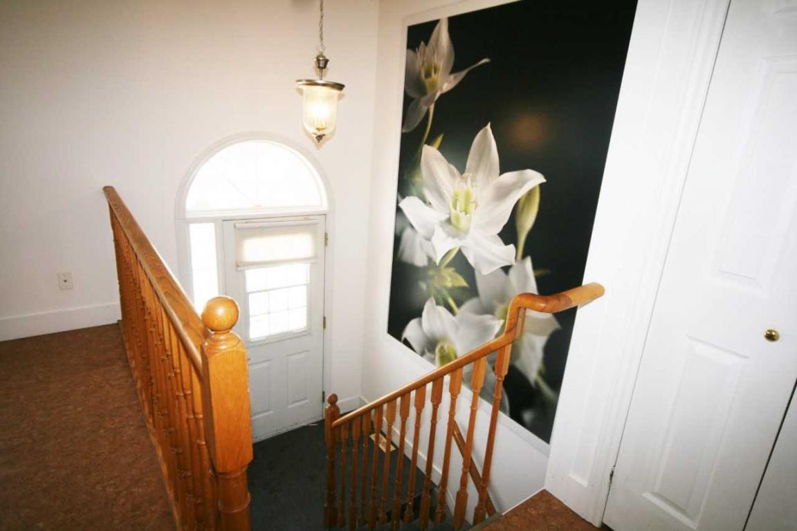 Upper entrance