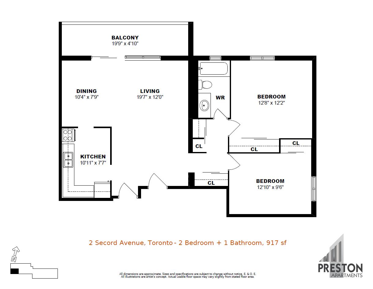 2 secord avenue east york apartments preston group photos floorplanphotos