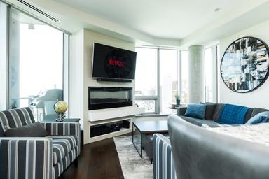 Apartment Building For Rent in  #1401 11969 Jasper Ave, Edmonton, AB