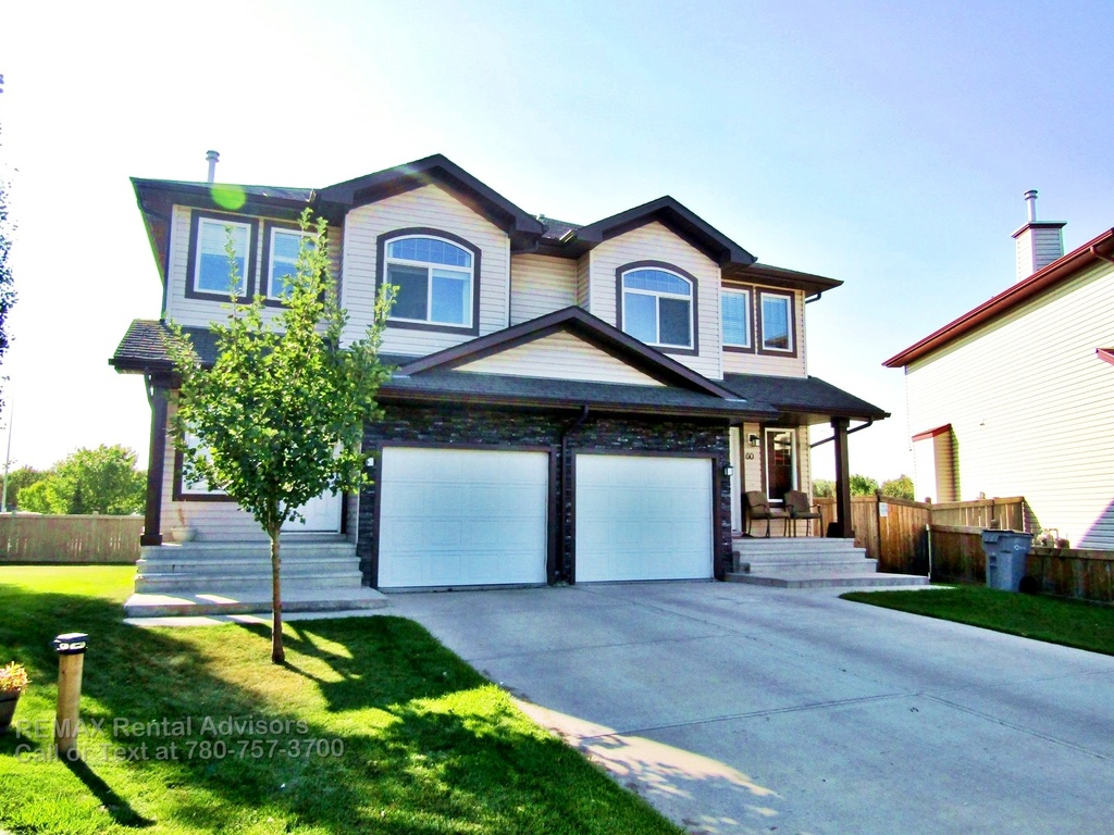 Stony Plain Duplex for rent, click for more details...