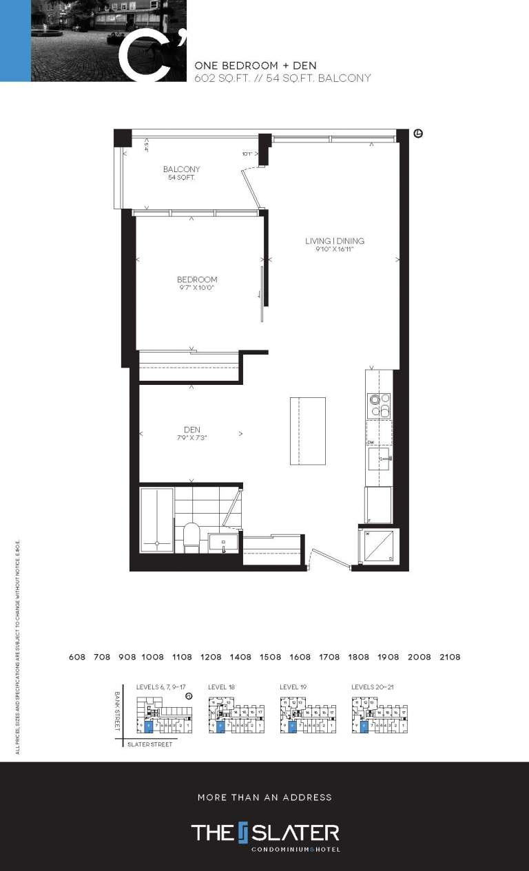199 Slater Street Unit 1608