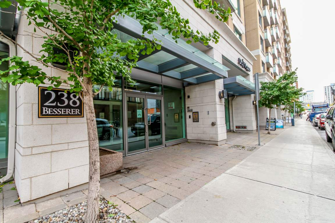 238 BESSERER ST #515, Ottawa K1N 6B1