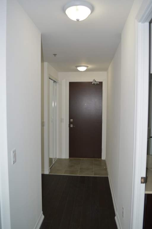 Entrance with double closet