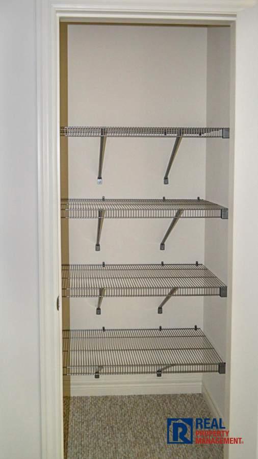 large linen closet on 2nd floor