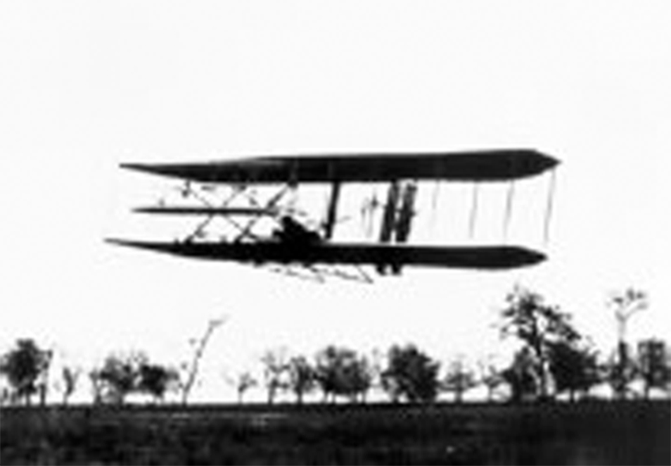 The Wright Brothers practiced flying at Simms Station, the Simms' family farm. Since then, Dayton's history and the Simms name have been intertwined.