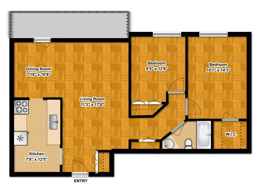 awesome floor apartment two bedrooms plans apartments bedroom