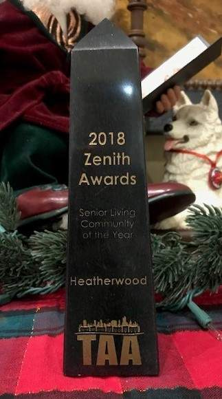 2018 Senior Living Community of the Year