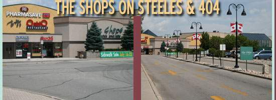 The Shops on Steeles & 404