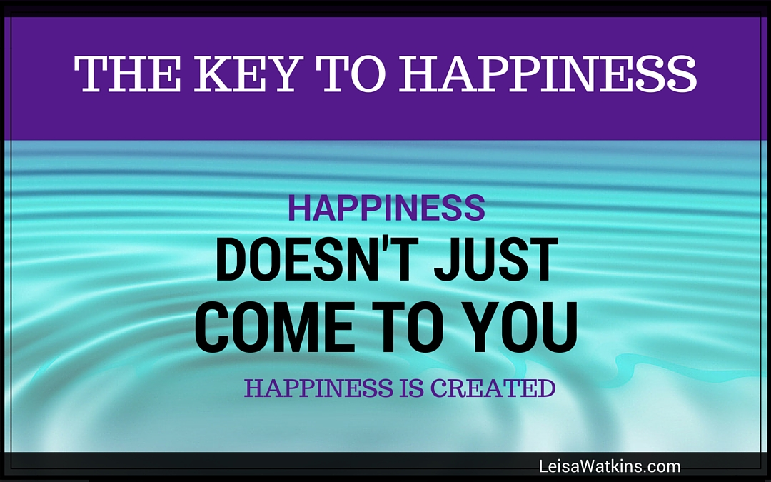 The Key to Happiness {Life Lesson}
