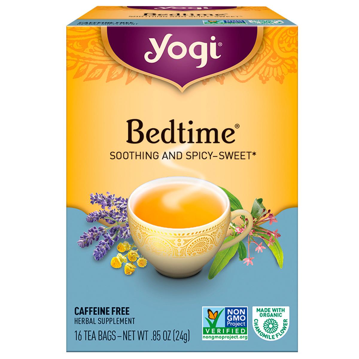 Yogi Tea Bedtime Sleep Aid 100% Natural Herbal Supplement ...