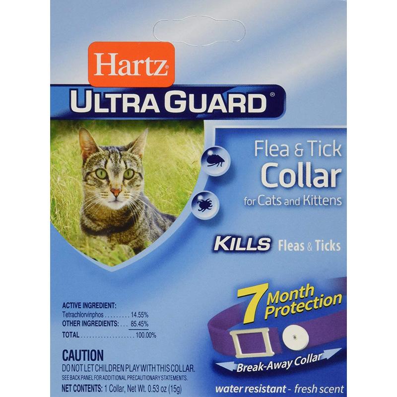 Hartz UltraGuard Purple Flea & Tick Collar for Cats and Kitt