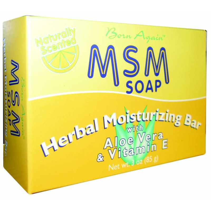 Details about AT LAST NATURALS- Born Again MSM Herbal Moisturizing Soap - 3  oz  (85 g)