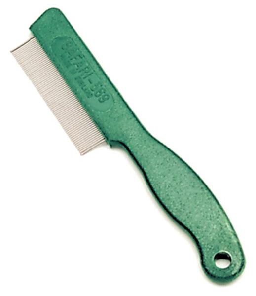Safari Flea Comb for Cats Green
