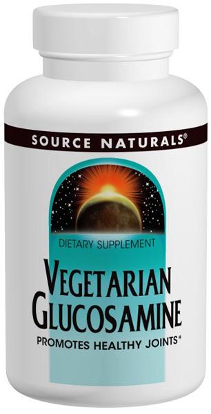 Source Naturals Vegetarian Glucosamine  - 60 Tablets