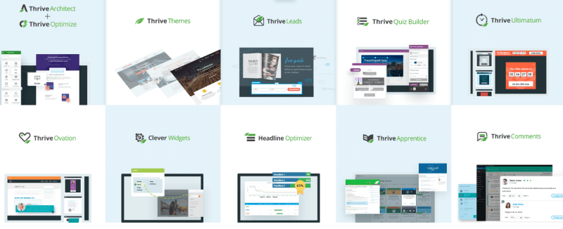 Thrive Themes Membership Products