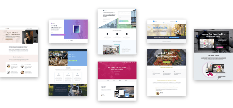 Thrive Architect Landing Page Templates