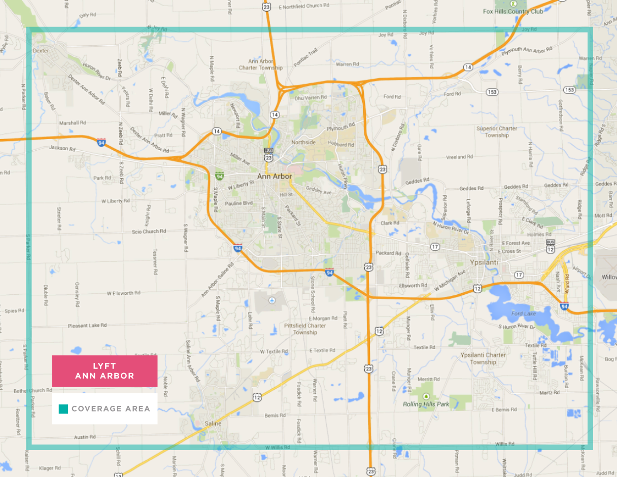 Lyft In Ann Arbor Michigan: Where To Use It, Free Promo