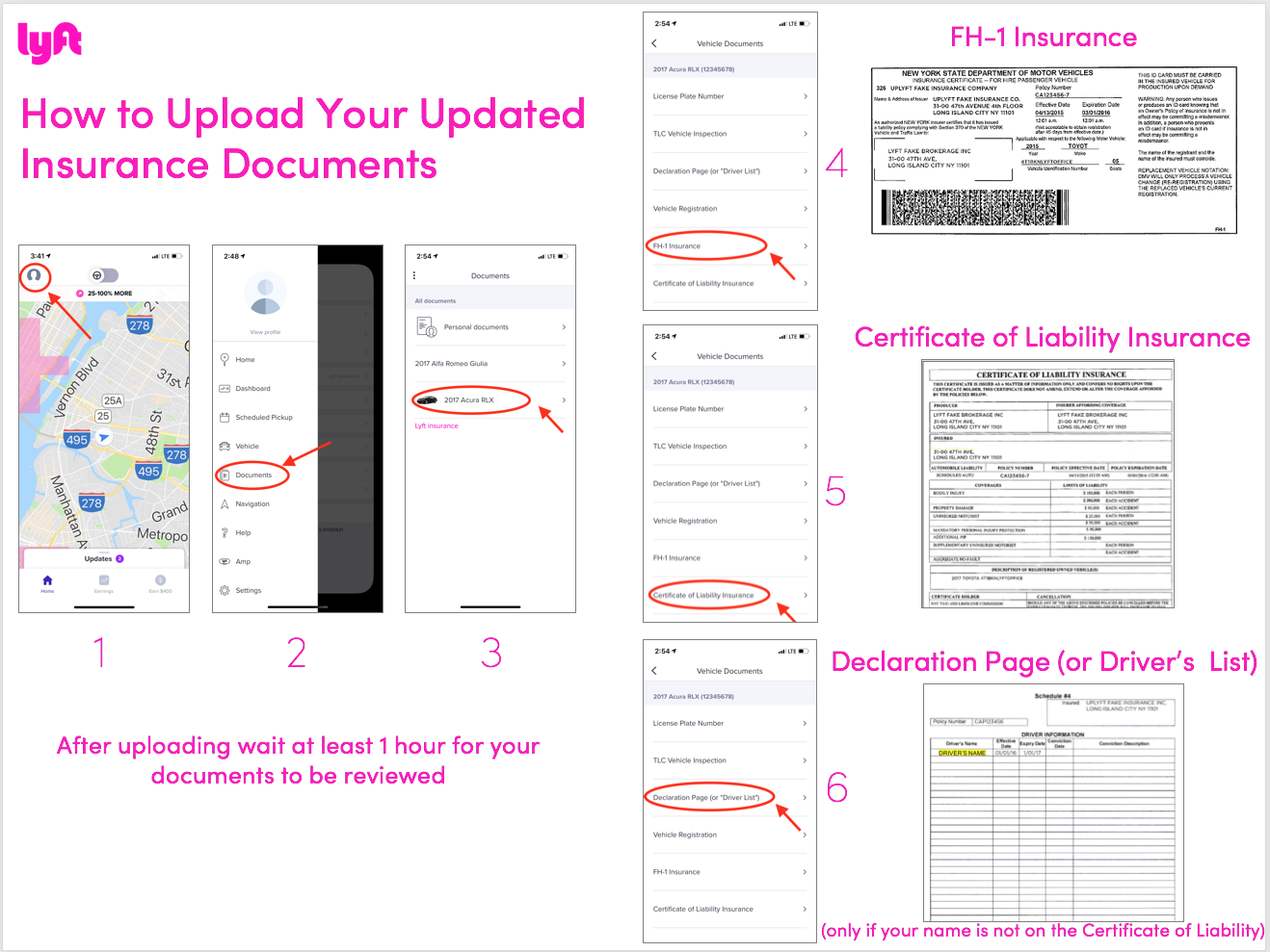 how to upload insurance documents