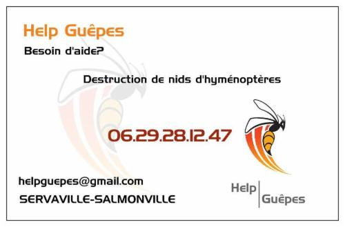 HelpGuêpes Servaville-Salmonville helpguepes destruction nids d'hyménoptères destruction nids de guêpes et frelons