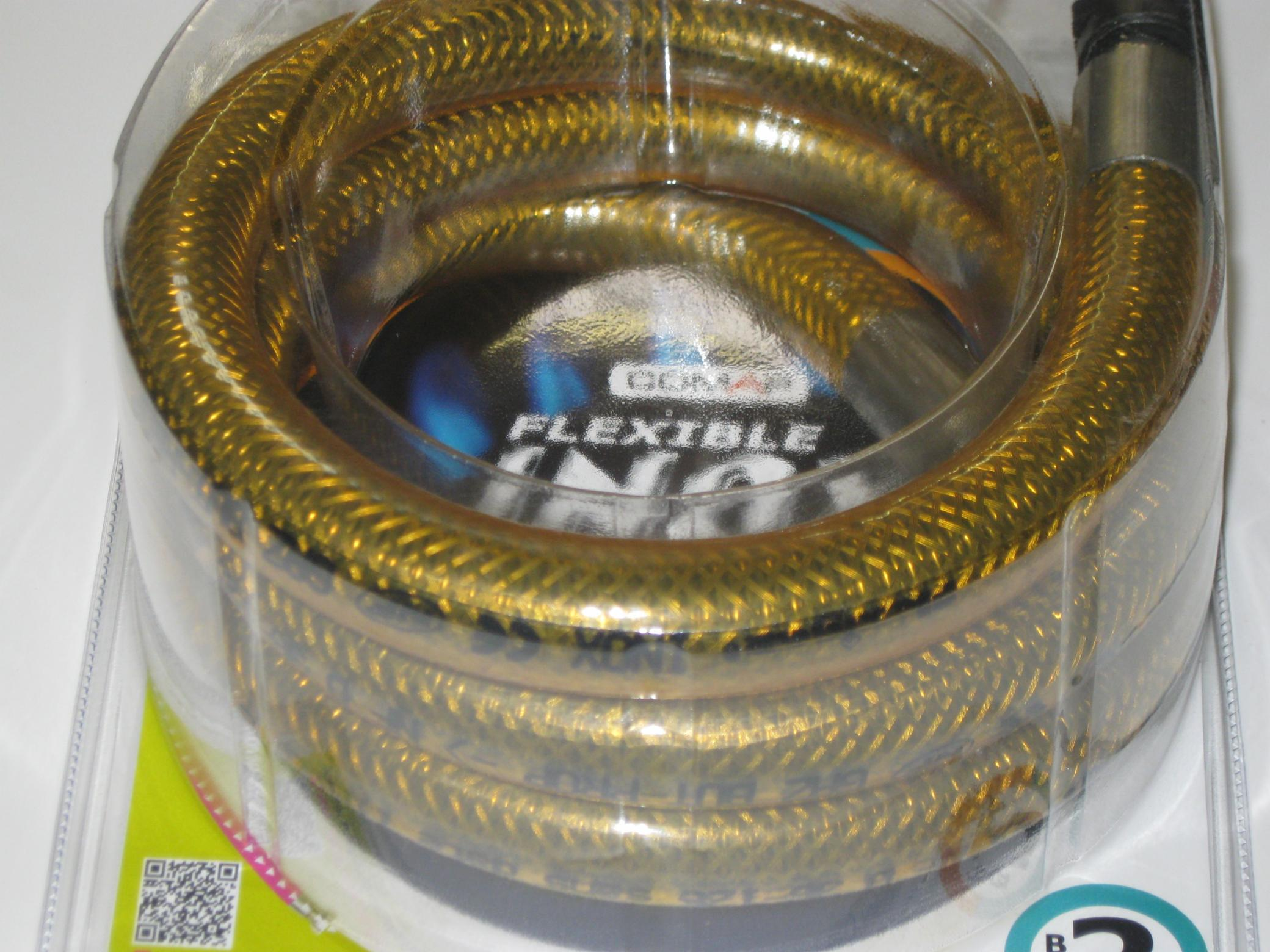 FLEXIBLE INOX A VIE 1,5 M