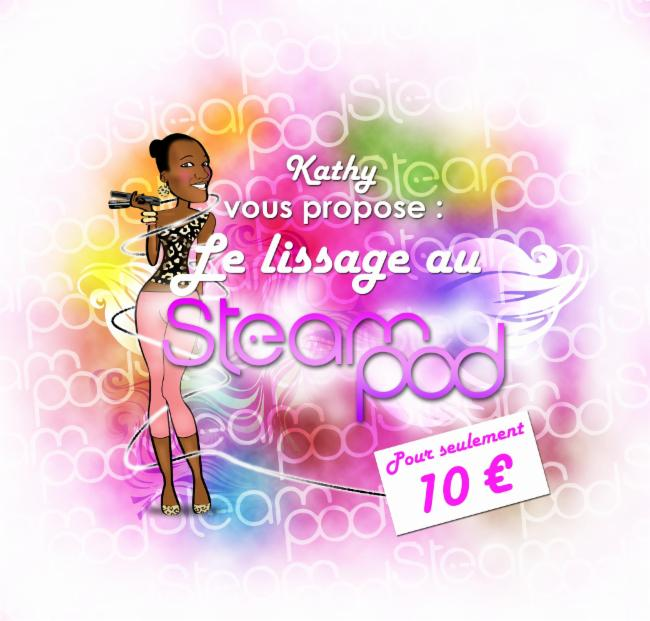 Kathy Liss Steampod ARGENTEUIL Steampod Steam pod Cheveux