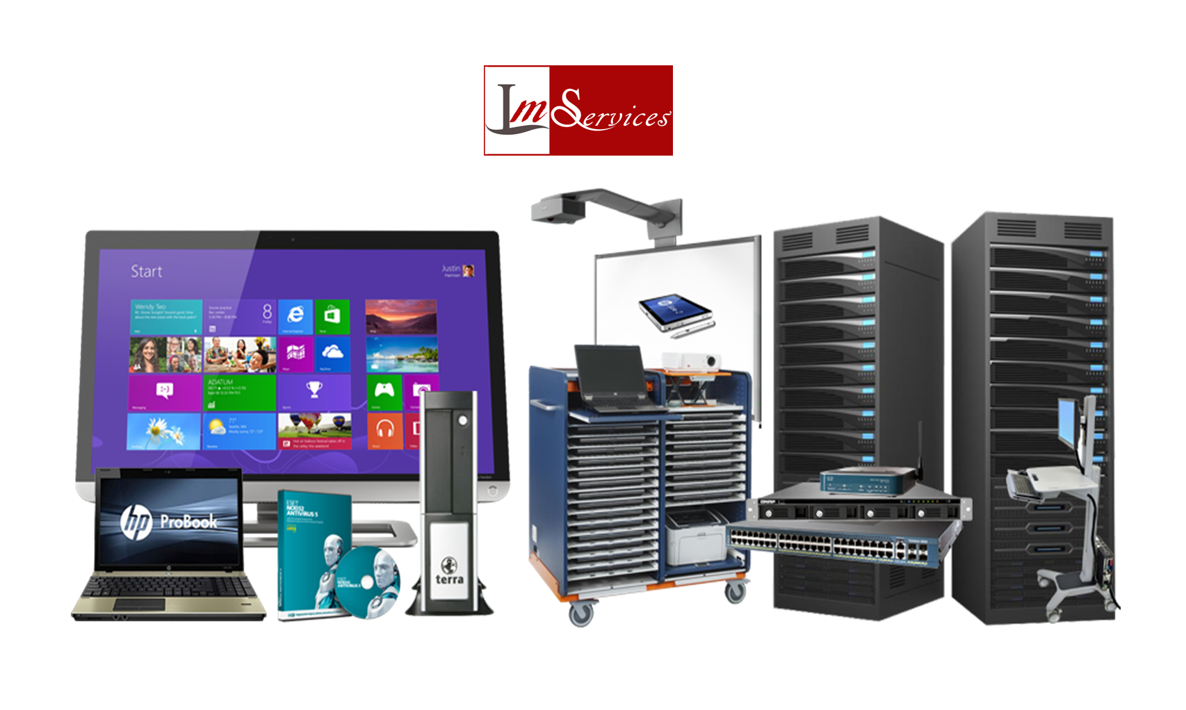 SOLUTION INFORMATIQUE LM SERVICES ENTRETIEN BATIMENTS SOLUTION INFORMATIQUE, MAINTENANCE RESEAUX ET ENTRETIEN BATIMENTS SOLUTION INFORMATIQUE
