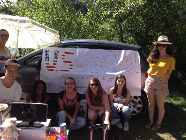Yard sale of 21/06/15 VOYAGE SCOLAIRE Young Brains On The Road VOYAGE SCOLAIRE ASSOCIATION