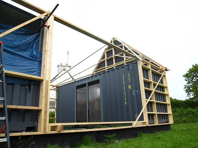 Construction maison avec container maritime ventana blog - Construction maison container ...