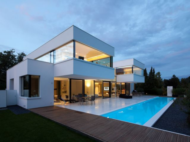 Awesome maison moderne blanc pictures amazing house design