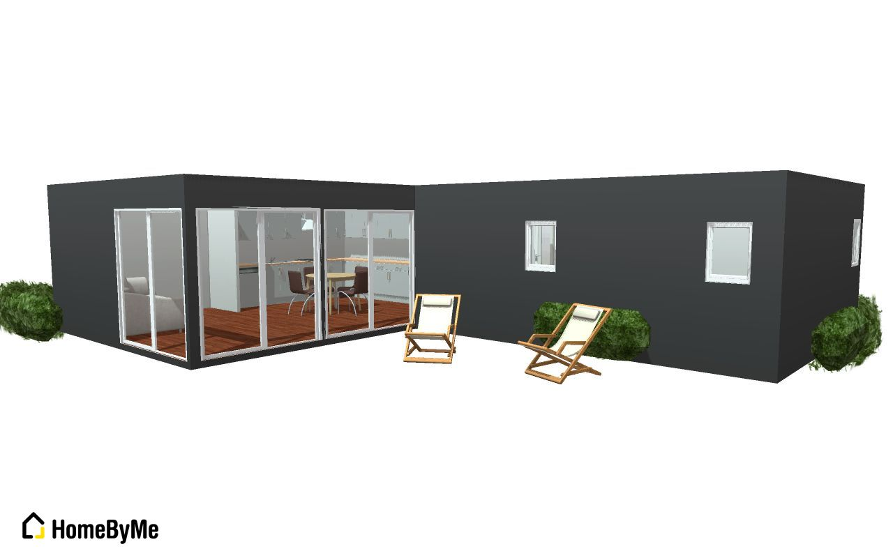 groupe maison d 39 architecte container azur 70 66 989 euros ttc cl s en main. Black Bedroom Furniture Sets. Home Design Ideas