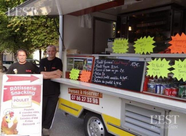 Le Poulet Toqué Pesmes Camion/Foodtruck rôtisserie snacking Camion/Foodtruck