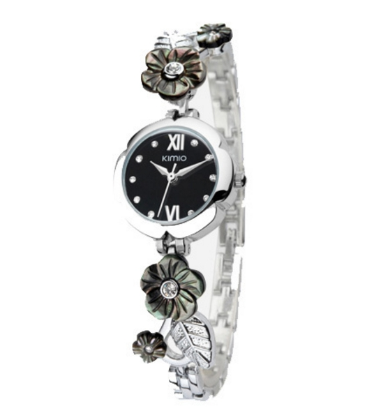 Montre Kimio Black Flower
