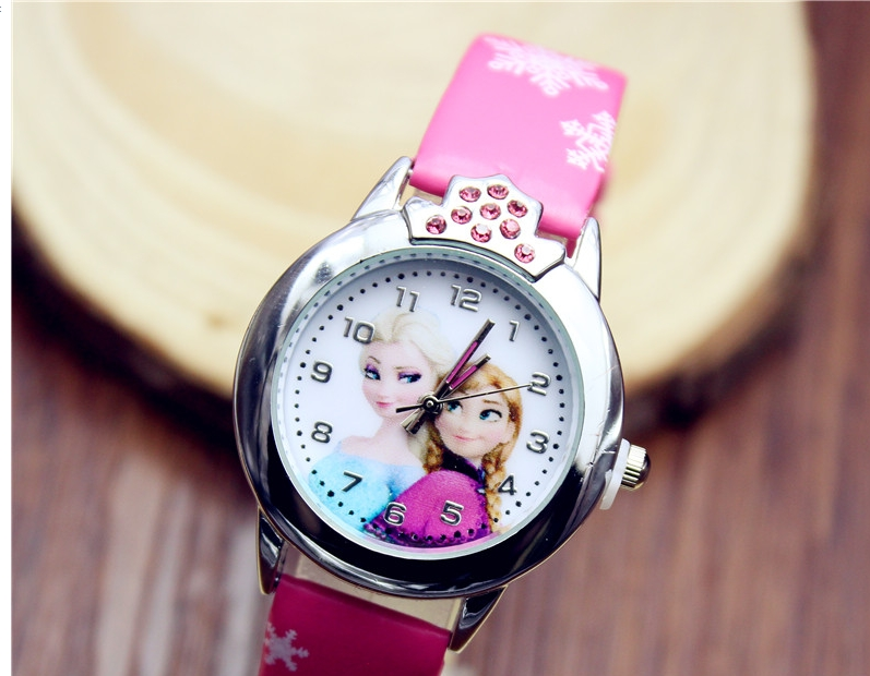 Montre quartz reine des neiges fille